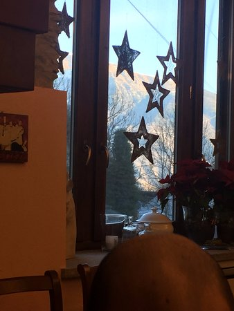 Il Mulino di Mattie : vista dalla sala