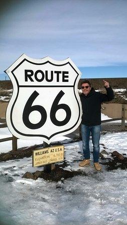 Williams, AZ: la mitica road 66