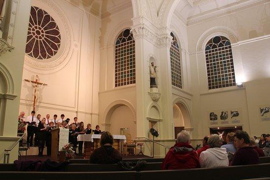 St. Mary's Basilica : Church interior showing brilliant choir