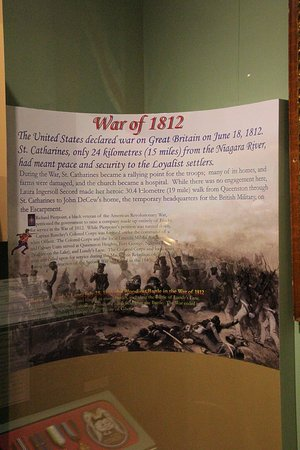 St. Catharines, Kanada: The war of 1812