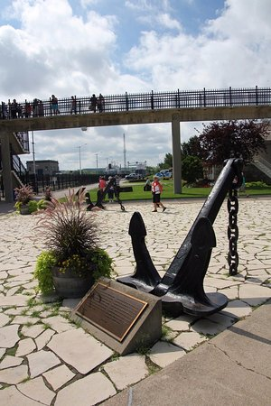 St. Catharines, Canada: An anchor