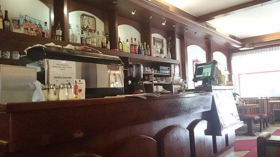 Eberndorf, Österreich: Die Bar im Nichtraucherbereich