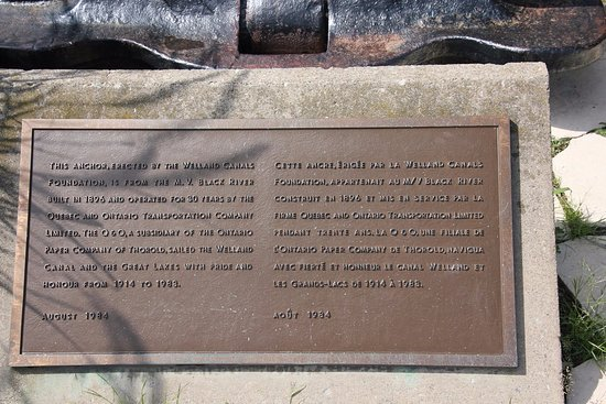St. Catharines, Canada: A plaque