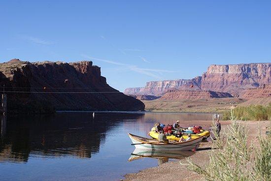 Paria River Canyon: embarcadero