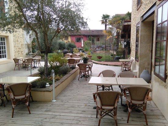 Mirande, Francja: la terrasse