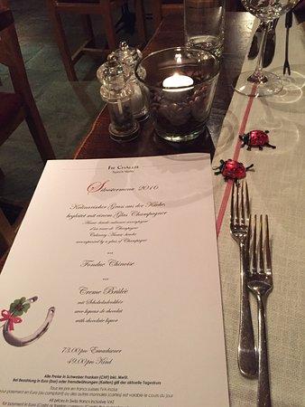 Fee-Challer: Silvester Menü