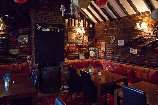 Capel, UK: Dedicated restaurant area