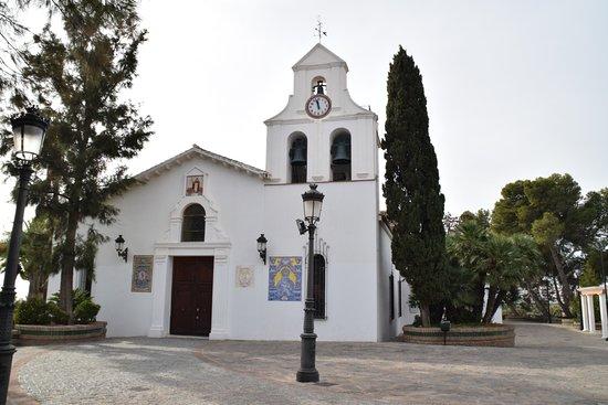 Plaza Espana Benalmadena: Mijas Church
