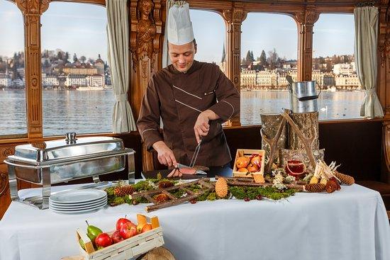 Gastronomie Vierwaldstattersee Photo