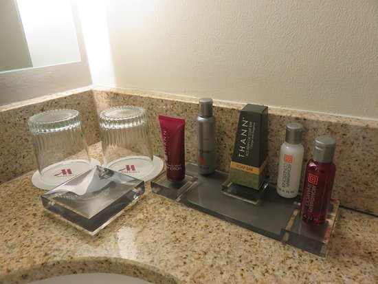 Key Bridge Marriott: Basic Necessities In The Bathroom