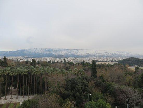 Ξενοδοχείο Αμαλία: vue sur jardin national , à partir de la terrasse