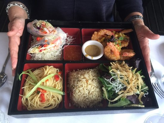Cardiff-by-the-Sea, CA: Bento style box (so so)