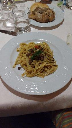 Prato alla Drava, Italy: Tagliatelle al ragù di cervo