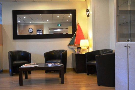 Hotel du Parc Euromedecine : L'espace lounge