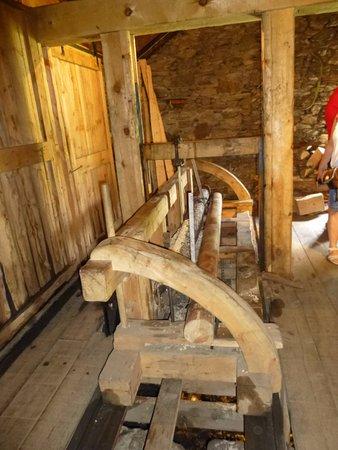 La Cortinada, Andorra: Interior del Asserradero de Cal Pal