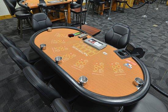 Daytona Beach Racing & Card Club: Table Games Including 3 Card Poker, 2 Card Poker, One Card Poker and Ultimate Texas Hold'em.