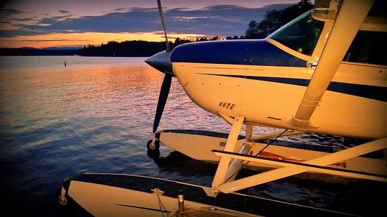 Saint Aime Des Lacs, แคนาดา: Une belle journée se termine à Saint-Aimé-des-Lacs