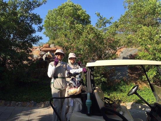 Vinpearl Golf Club: とても親切なキャディーさん