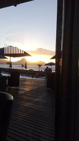 Lagoon Beach Hotel & Spa: View from the restaurant