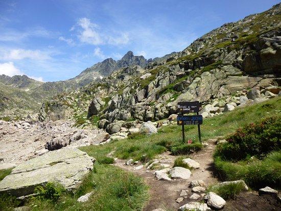 Valle de Incles : Camino hacia els Estanys de Juclar
