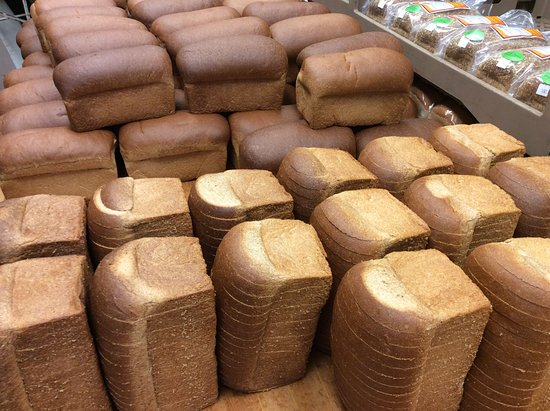 Exeter, NH: You can buy our breads at Hannaford, Market Basket, McKinnon's, Joe's Meat Shoppe....