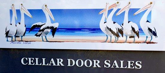 Кингскот, Австралия: Bay of Ghoals Winery Emblem
