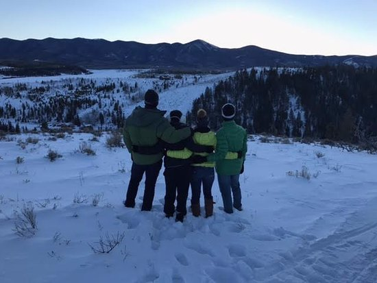 Parshall, CO: From the snowmobiling trip, all of us contemplating moving here lol