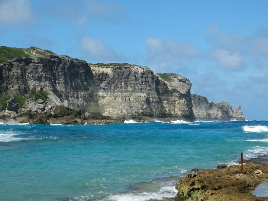Anse-Bertrand, Guadeloupe: Lagune