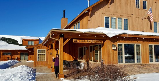Gallatin River Lodge: Winter wonderland