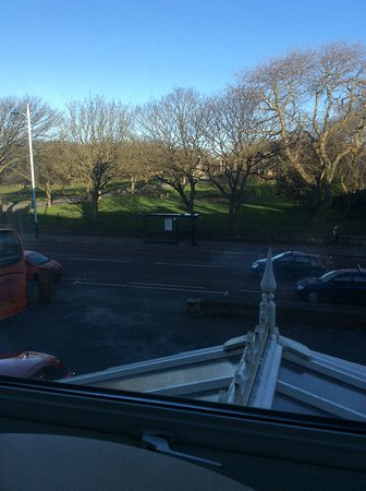 The Ashton Park Hotel : View from bedroom overlooking park