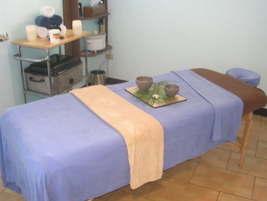 Road Town, Tortola: One of the treatment rooms at our Main Street Spa.