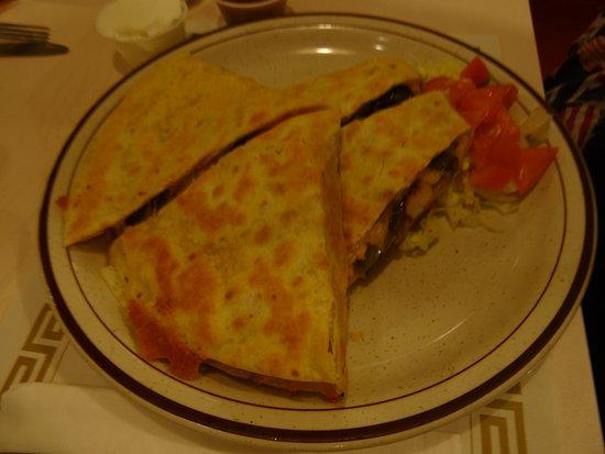 Barnegat, NJ: These were such good Chicken Quesadillas.