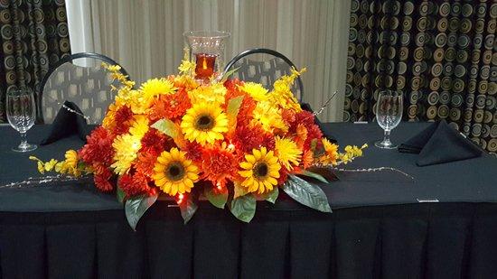 Denton, TX: Rehearsal Dinner for Wedding in Conference Room