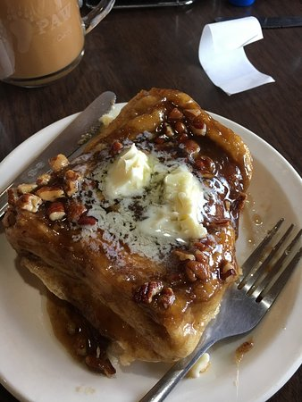 Port Wing, Висконсин: Best caramel roll in the western world