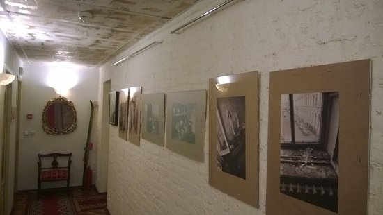 Бутик-отель Рахманинов: Taidetta käytävällä