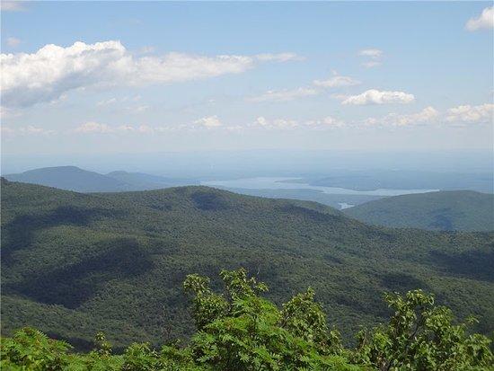 Catskill, NY: 11. View of Ashokan Reservoir from Peekamoose Summit