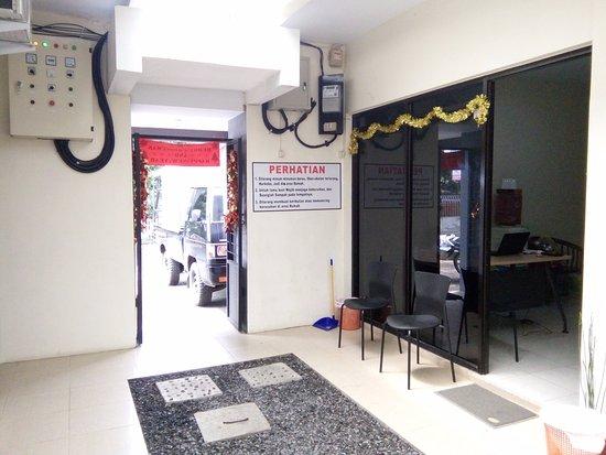 Wori, Indonésia: Reception Area