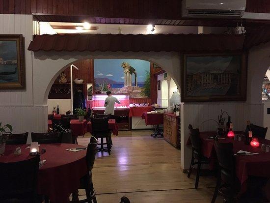Vordingborg, Dinamarca: Restaurant Roma