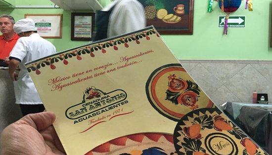 El menú - Picture of Cenaduria San Antonio, Aguascalientes - Tripadvisor