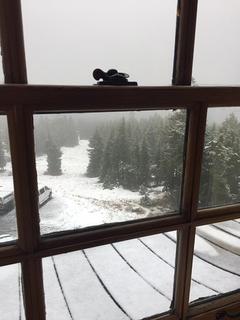 Timberline Lodge, OR : Warm and cozy
