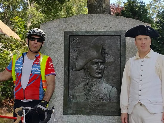 Kent, CT: Bicycle Tour Company tour of the Washington–Rochambeau Revolutionary Route (W3R)