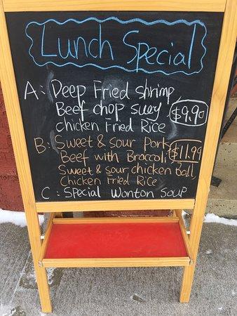Killam, Canadá: Szechuan A1 Restaurant