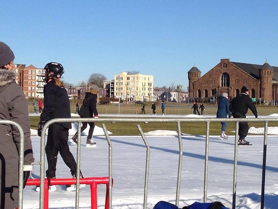 Emera Oval: Free skate at the Oval in Halifax