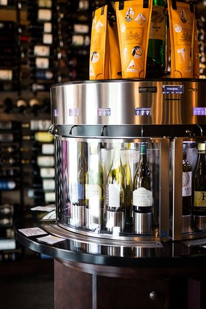 Red The Restaurant & Wine Boutique: 32 Wines on Tap in our special Enomatic Machines.  Taste or by the glass offerings.