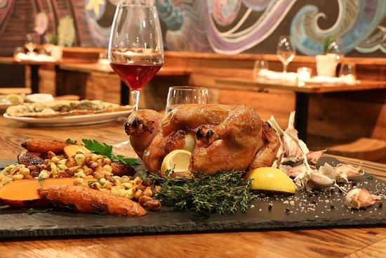 Greenwich, CT: Wood Roasted Chicken