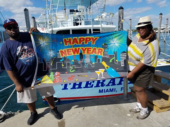 therapy iv deep sea fishing experience happy new year