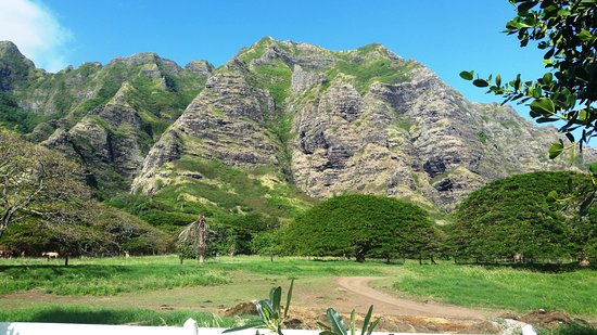 Kaneohe, Hawaje: View from the ATV trails...