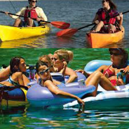 Danielsville, Georgien: kayaking and tubing broad river