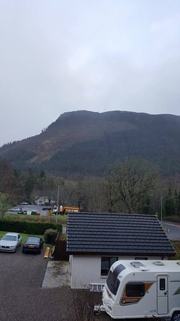 Invermoriston, UK: View from room.