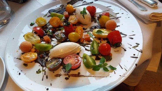 Restaurant Hiely Lucullus : Tomates con mozzarella